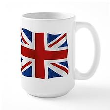 Union Jack flying flag Mug