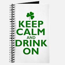 Keep Calm and drink on Irish Journal