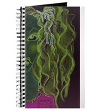 Cute Dragonfly at night Journal