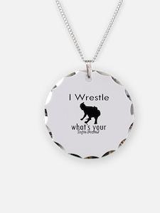 I Wrestle Necklace