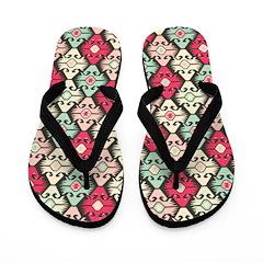 Kilim Pueblo Girls Flip Flops