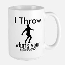 I Throw Large Mug