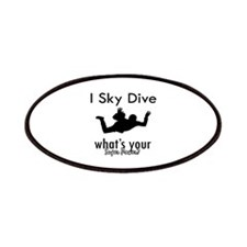 I Sky Dive Patches