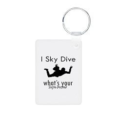 I Sky Dive Keychains