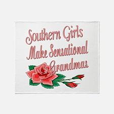 Sensational Grandmas Throw Blanket