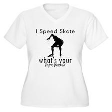 I Speed Skate T-Shirt
