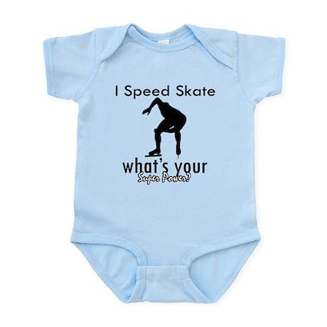 I Speed Skate Infant Bodysuit