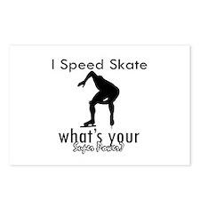 I Speed Skate Postcards (Package of 8)