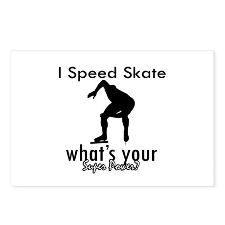 I Speed Skate Postcards (Package of 8)