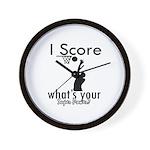 I Score Wall Clock