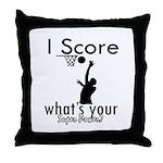 I Score Throw Pillow