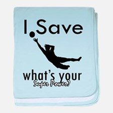 I Save baby blanket