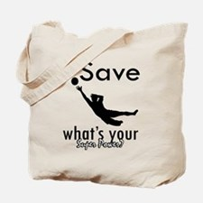 I Save Tote Bag