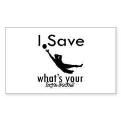 I Save Decal