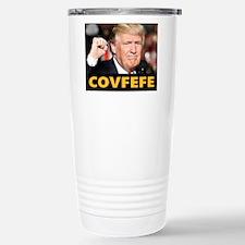 COVFEFE TRUMP Travel Mug