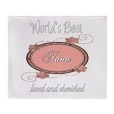 Cherished Nana Throw Blanket