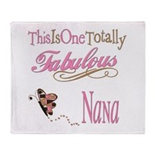 Fabulous Nana Throw Blanket