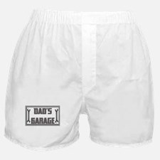 Cute Dads garage Boxer Shorts