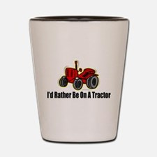 Funny Tractor Shot Glass