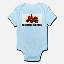 Funny Tractor Infant Bodysuit