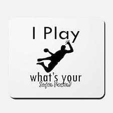 I Play Mousepad