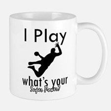I Play Small Mugs