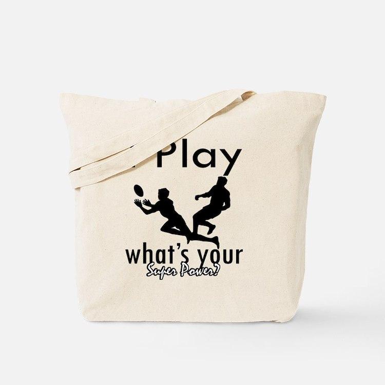 I Play Tote Bag