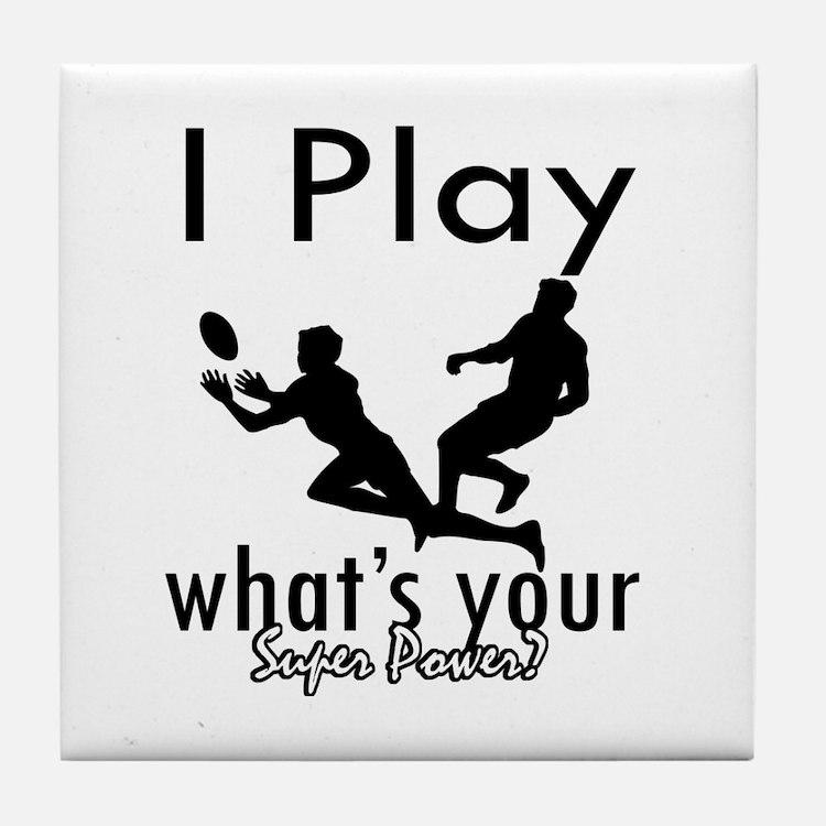 I Play Tile Coaster