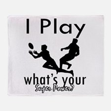 I Play Throw Blanket