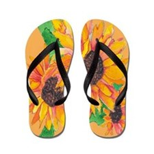 Sunflower Splash Sandal Shoes FlipFlops