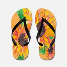 Sunflower Splash Sandal Shoes FlipFlops