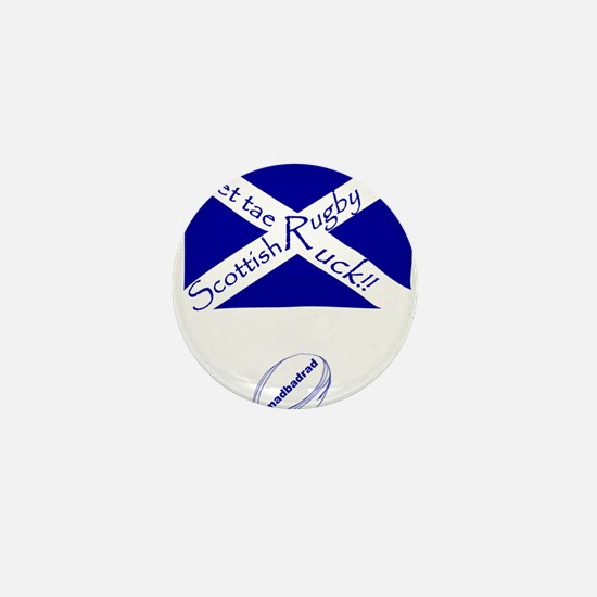Rugby Get tae Ruck Mini Button
