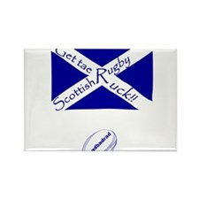 Rugby Get tae Ruck Rectangle Magnet