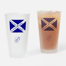 Rugby Get tae Ruck Drinking Glass