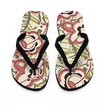 Floridian Deco Flip Flops