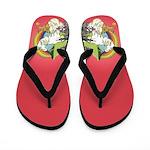 Unicorn Rainbow Flip Flops