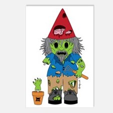 Zombie Gnome Postcards (Package of 8)