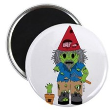 """Zombie Gnome 2.25"""" Magnet (10 pack)"""