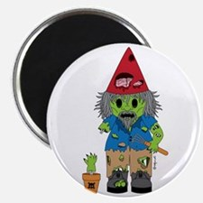Zombie Gnome Magnet