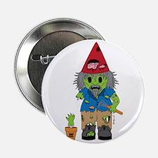 """Zombie Gnome 2.25"""" Button"""