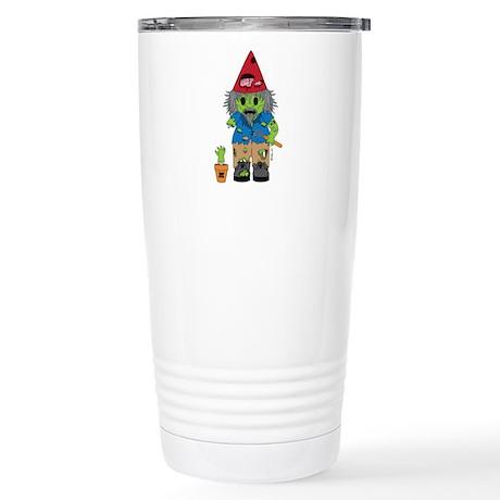 Zombie Gnome Stainless Steel Travel Mug