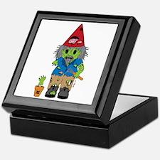 Zombie Gnome Keepsake Box
