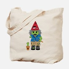 Zombie Gnome Tote Bag