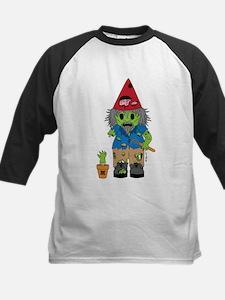 Zombie Gnome Kids Baseball Jersey