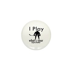 I Play Mini Button (10 pack)