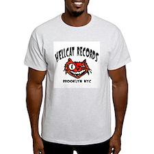 Hellcat Records Ash Grey T-Shirt