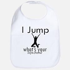 I Jump Bib