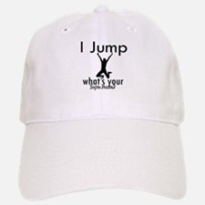 I Jump Baseball Baseball Cap