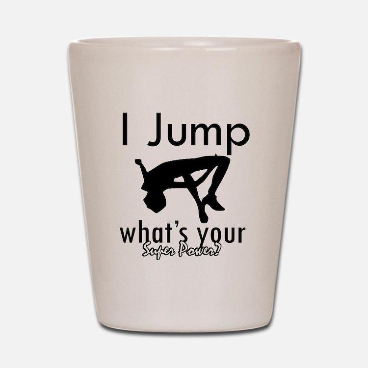 I Jump Shot Glass