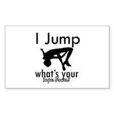 I Jump Decal